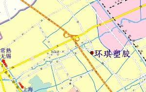 �I琪塑胶公司地图